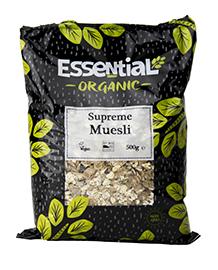 Essential Supreme Muesli Organic 500g