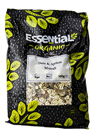 Essential Date & Apricot Muesli Organic