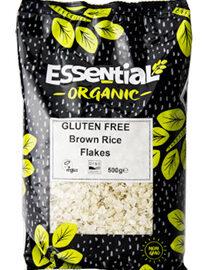 Essential Brown Rice Flakes Gluten Free Organic