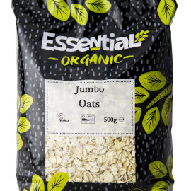 Essential Jumbo Oats Organic 500g