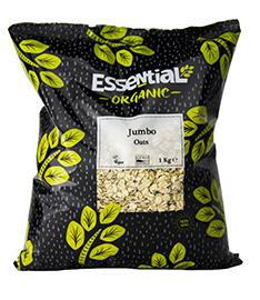 Essential Jumbo Oats Organic 1kg