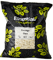 Essential Porridge Oats Organic 1kg