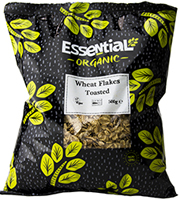 Essential Toasted Wheat Flakes Organic