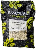 Essential Luxury Fruit & Nut Muesli Organic 500g