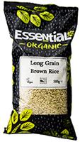 Essential Long Grain Brown Rice Organic 500g