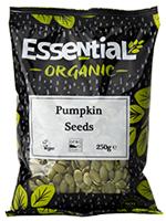 Essential Pumpkin Seeds Organic 250g