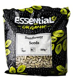Essential Sunflower Seeds Organic 500g