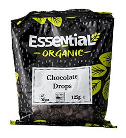 Essential Chocolate Drops Organic