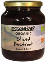 Essential Sliced Beetroot Sweet & Sour Organic