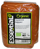 Essential Cayenne Pepper Organic 500g