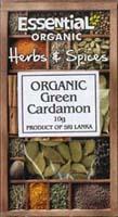 Essential Green Cardamon Organic