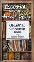 Essential Cinnamon Bark Organic