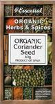 Essential Coriander Seed Organic