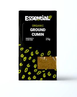 Essential Ground Cumin Organic
