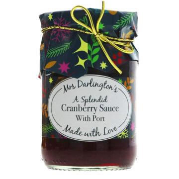 Mrs Darlington's A Splendid Cranberry Sauce With Port
