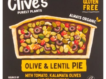 Clive's Olive & Lentil Pie Gluten Free Organic