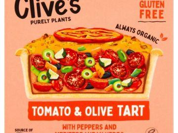 Clive's Tomato & Olive Tart Gluten Free Organic
