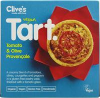 Clive's Tomato & Olive Provençale Tart Organic