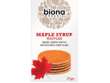 Biona Maple Syrup Waffles Organic