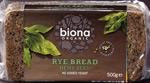 Biona Rye Bread with Hemp Seed Organic