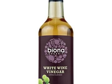 Biona White Wine Vinegar Organic