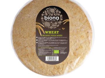 Biona Wholewheat Pizza Bases Organic
