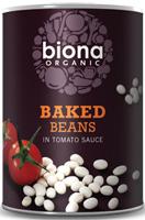 Biona Baked Beans Tomato Sauce Organic