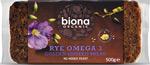 Biona Rye Omega Golden Linseed Bread Organic