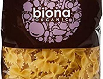 Biona White Farfalline Bow Pasta Organic