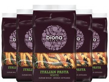 Biona White Tricolore Fusilli Organic