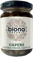 Biona Capers Olive Oil Organic