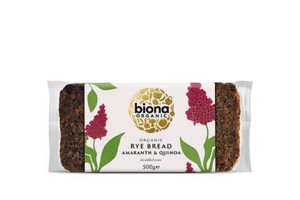 Biona Rye Bread with Amaranth & Quinoa Organic