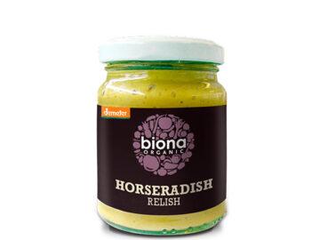 Biona Horseradish Relish Organic
