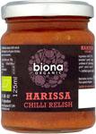Biona Harissa Chilli Relish Organic
