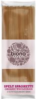 Biona Wholegrain Spelt Spaghetti Organic