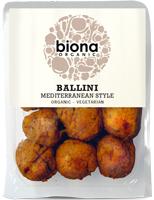Biona Ballini Mediterranean Style Vegetarian Finger Food Organic