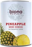 Biona Pineapple Mini Rings Organic