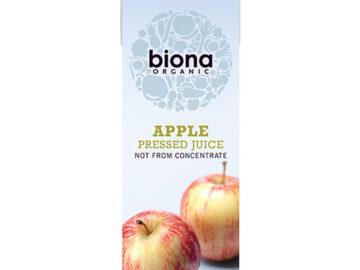 Biona Apple Juice Pressed Organic (Tetra)