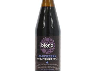 Biona Pure Blueberry Juice Organic