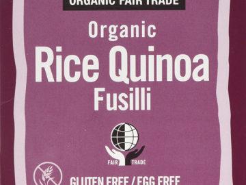 BioFair Rice Quinoa Fusilli Organic ~ Gluten Free