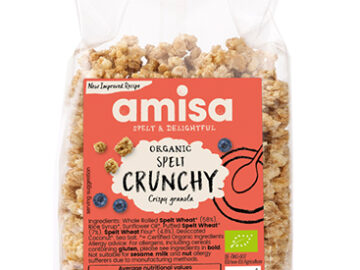 Amisa Spelt Crunchy Granola Organic