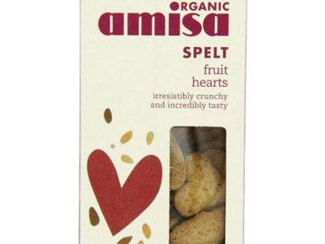 Amisa Spelt Fruit Hearts Organic
