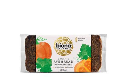 Biona Rye Bread with Pumpkin Seed Organic