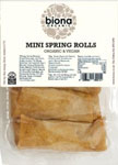 Biona Mini Spring Rolls Organic