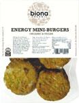 Biona Energy Mini Burgers Organic
