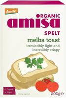 Amisa Spelt Melba Toast Organic