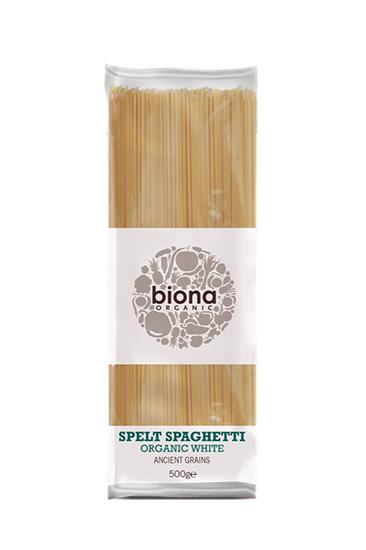 Biona White Spelt Spaghetti Organic