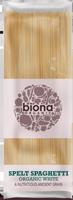 Biona White Spelt Spaghetti Pasta Organic