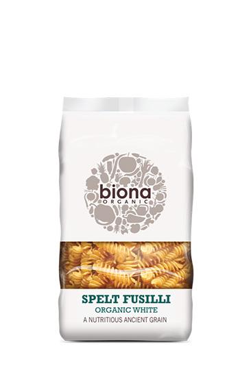 Biona White Spelt Fusilli Pasta Organic