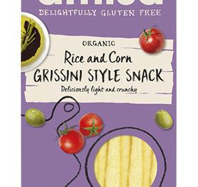 Amisa Grissini Style Corn & Rice Sticks Organic 100g